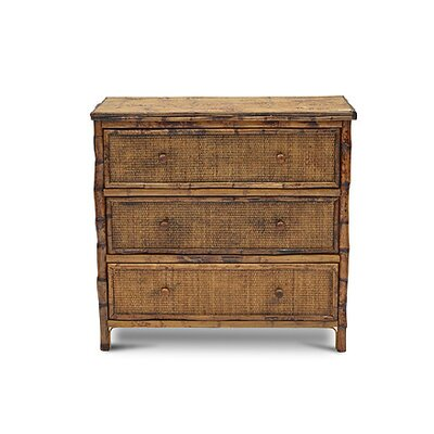 Timeless Bachelor 3 Drawer Standard Dresser