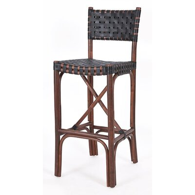New Classics Malibu 30 Bar Stool Finish: Cocoa