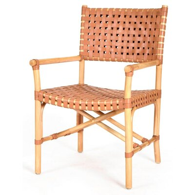 New Classics Malibu Arm Chair Finish: Natural