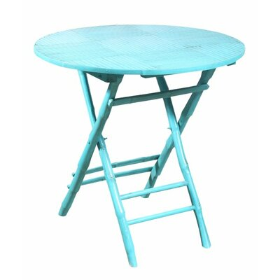 Rent to own Coastal Chic Folding Round Table...