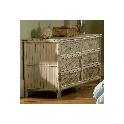 Furniture rental Coastal Chic 6 Drawer Standard Dres...
