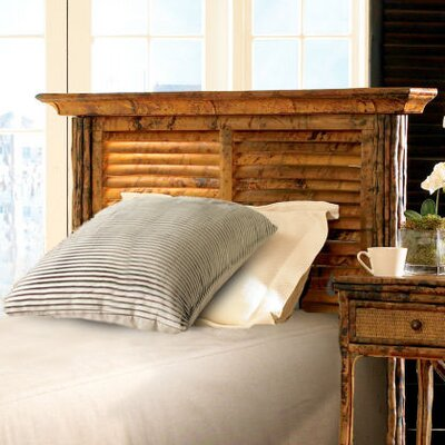 Coastal Chic Panel Headboard Upholstery: Antique Tortoise, Size: Twin