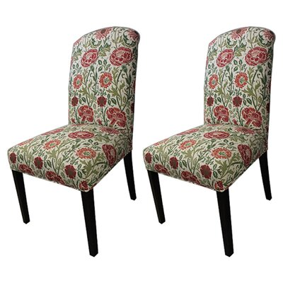 Savior Autumn Cotton Parson Chair