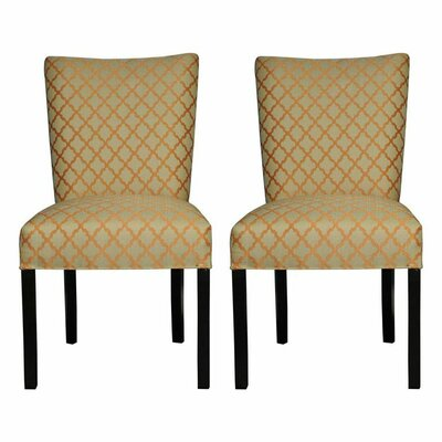 Garavan Side Chair Upholstery: Eddy Orange