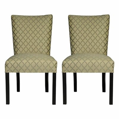Garavan Side Chair Upholstery: Eddy Smoke