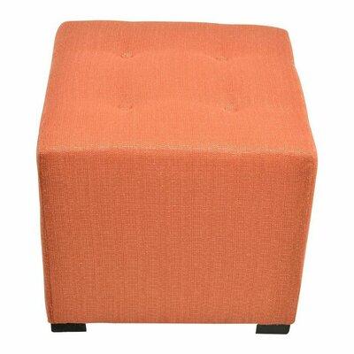 Merton  Ottoman Upholstery: Candice Pumpkin