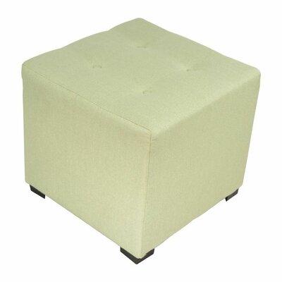 Merton  Ottoman Upholstery: Candice Sea Foam