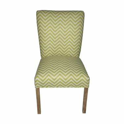Julia Side Chair Upholstery: Ziggi Citron