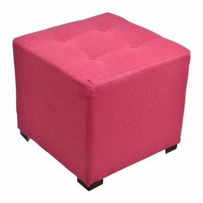 Merton Cube Ottoman Upholstery: Candice Tulip