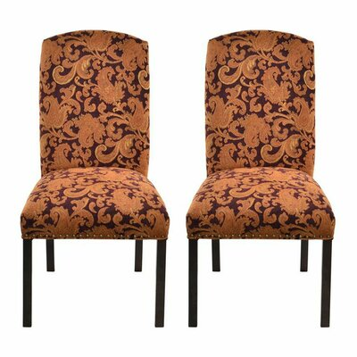 Side Chair Upholstery: Etro Plums
