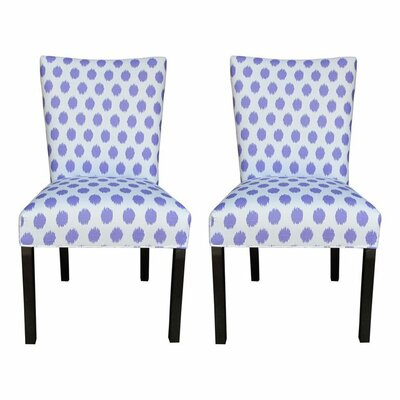 Garavan Side Chair Upholstery: Jojo Thistle