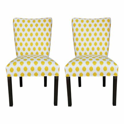 Garavan Side Chair Upholstery: Jojo Yellow