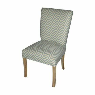 Julia Side Chair Upholstery: Ziggi Mist