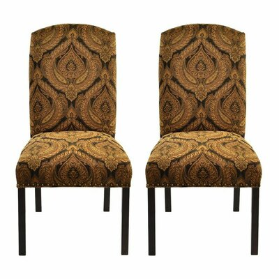 Side Chair Upholstery: Hissy Fit Black