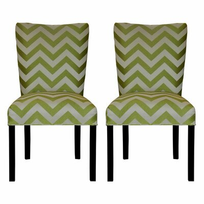 Garavan Side Chair Upholstery: Kristin Lime