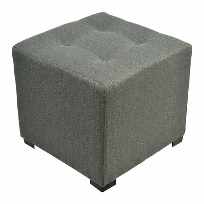 Merton  Ottoman Upholstery: Candice Charcoal