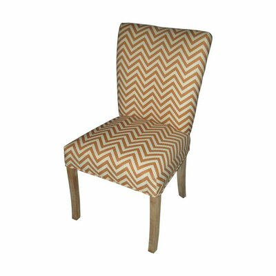 Julia Side Chair Upholstery: Ziggi Orange