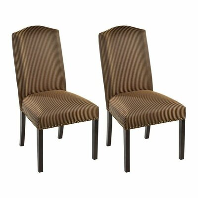 Side Chair Upholstery: Marbella Mahogany
