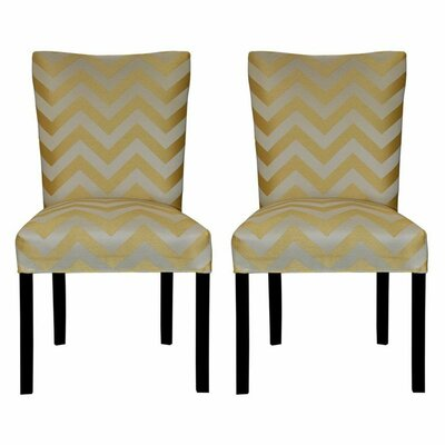 Julia Side Chair Upholstery: Kristin Yellow