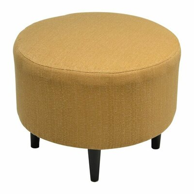 Sophia Round Ottoman Upholstery: Candice Fawn