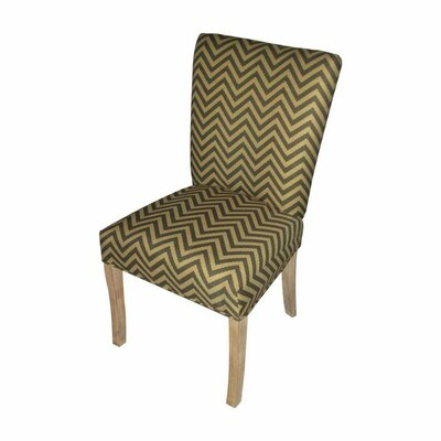 Garavan Side Chair Upholstery: Ziggi Tobacco