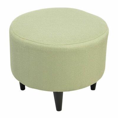 Spence Round Ottoman Upholstery: Candice Sea Foam