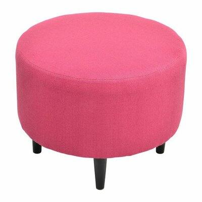 Spence Round Ottoman Upholstery: Candice Tulip