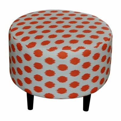 Sophia Jojo Round Ottoman Upholstery: Jojo Tangelo