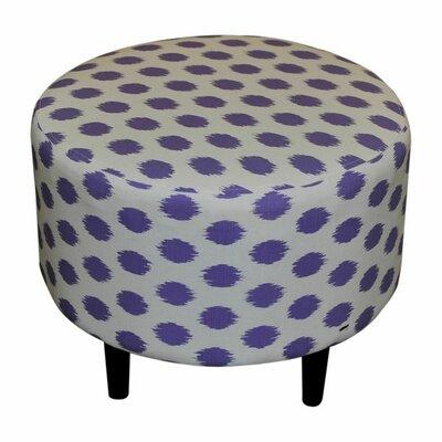 Sophia Jojo Round Ottoman Upholstery: Jojo Thistle