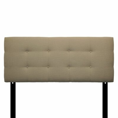 Ali Eastern King Upholstered Panel Headboard Upholstery: Carlsbad Desert