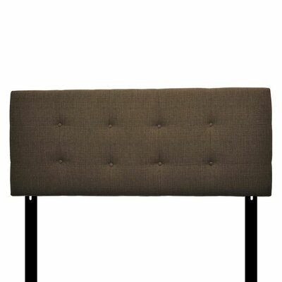 Ali Eastern King Upholstered Panel Headboard Upholstery: Carson Brown