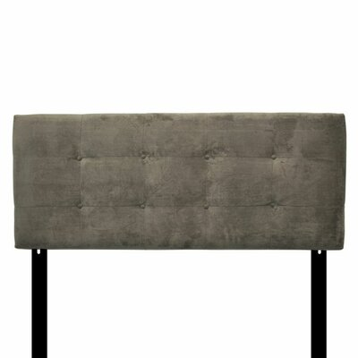 Ali Eastern King Upholstered Panel Headboard Upholstery: Diva Blue Stone