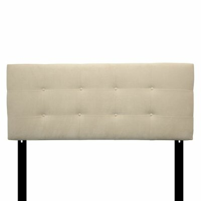 Ali Eastern King Upholstered Panel Headboard Upholstery: Carson Ivory