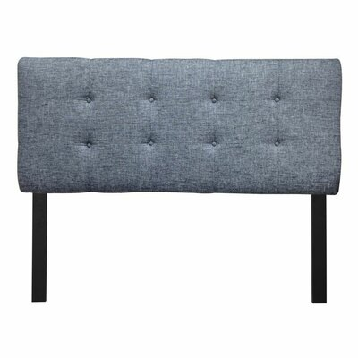 Ali Upholstered Panel Headboard Size: California King