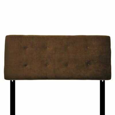 Bella Upholstered Panel Headboard Size: Eastern King