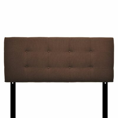 Ali Upholstered Panel Headboard Size: Eastern King