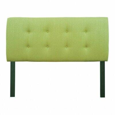 Ali Upholstered Panel Headboard Size: Eastern King, Upholstery: Arcadia Ivory