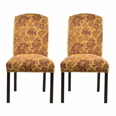 Side Chair Upholstery: Cortland Honey