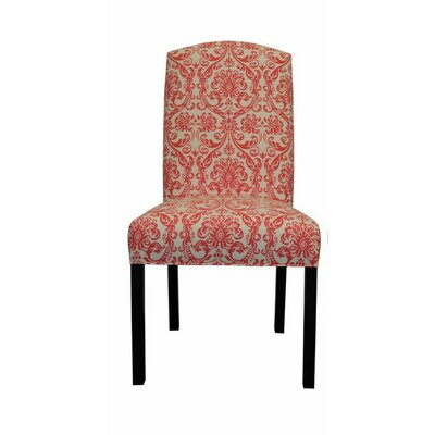 Abigail Side Chair Upholstery: Flamingo Pink