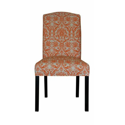Abigail Side Chair Upholstery: Mandarin Orange