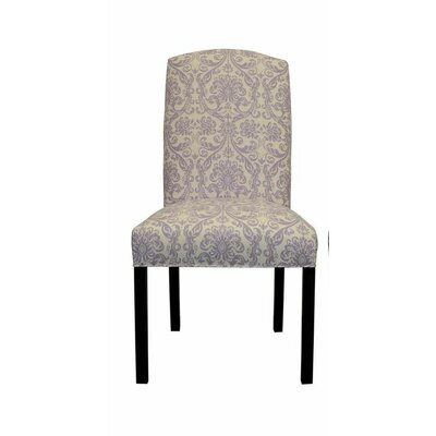Abigail Side Chair Upholstery: Lavender Drew