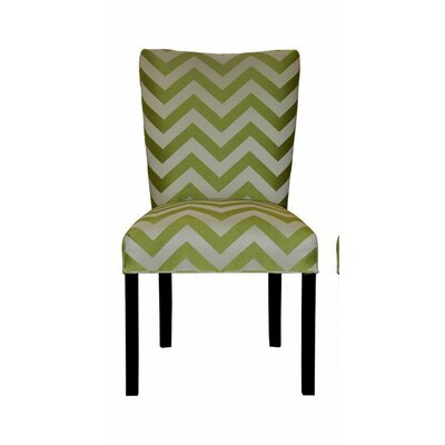 Julia Side Chair Upholstery: Kristin Lime