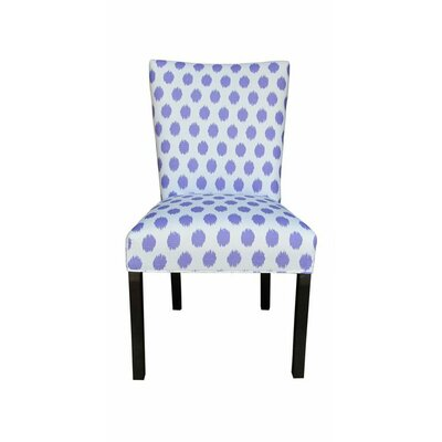 Julia Side Chair Upholstery: Jojo Thistle
