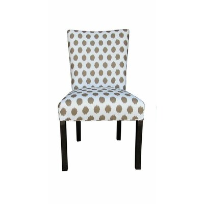 Julia Side Chair Upholstery: Jojo Brown