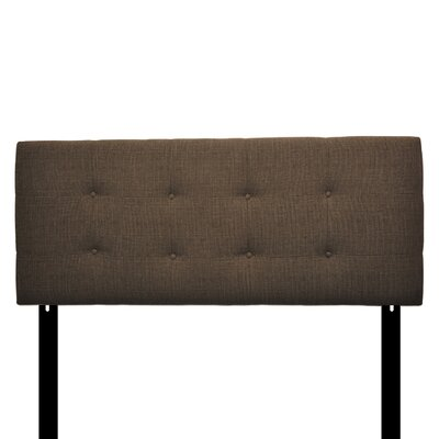 Ali Eastern King Upholstered Panel Headboard Upholstery: Sand