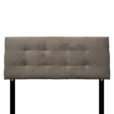 Ali Eastern King Upholstered Panel Headboard Upholstery: Diva Driftwood