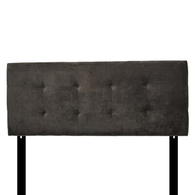 Ali Eastern King Upholstered Panel Headboard Upholstery: Diva Indigo