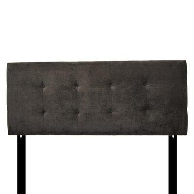 Ali Eastern King Upholstered Panel Headboard Upholstery: Diva Indigo