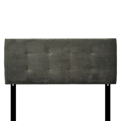 Ali Eastern King Upholstered Panel Headboard Upholstery: Diva Smoke