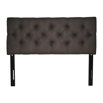 Jackie Twin Upholstered Panel Headboard Upholstery: Klein Chocolate